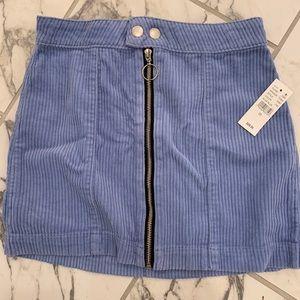 Blue corduroy  Pacsun skirt size 23